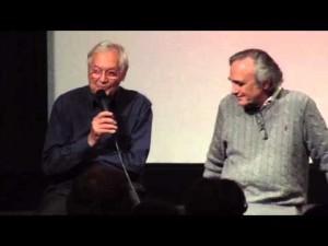 Roger Corman et Joe Dante en 2014 (DR).