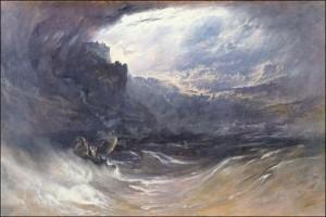 John Martin, Le déluge.