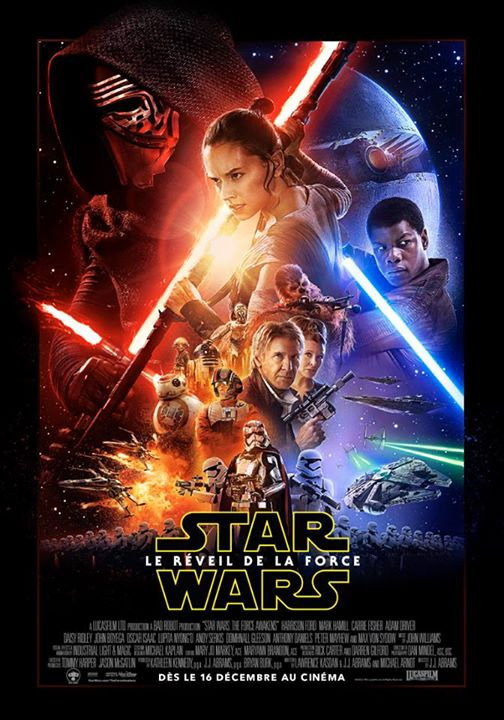 Star Wars : Le Réveil de la Force, que penser de l'affiche définitive ?