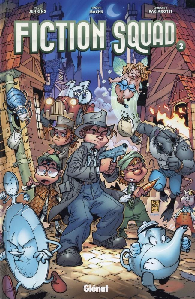On a lu… Fiction Squad (T.2 et T.3) de Paul Jenkins, Ramon Bachs et Leonardo Paciarotti