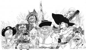 Pirates ©Gilles Roussel _ Au Diable Vauvert