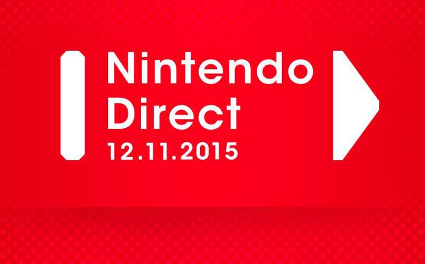 Les annonces du Nintendo Direct du 12/11/15