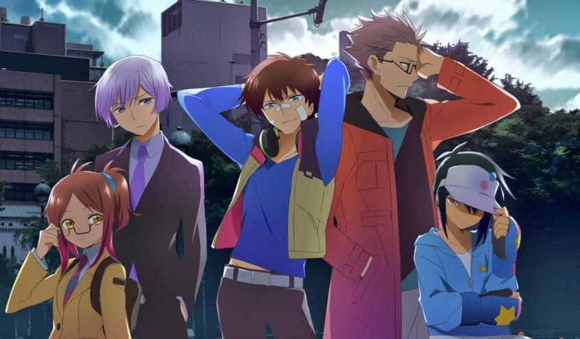 On a lu… Hamatora: The Comic (T.2) de Yukinori Kitajima et Yûki Kodama