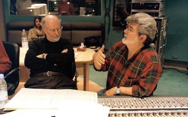 John Williams et Georges Lucas
