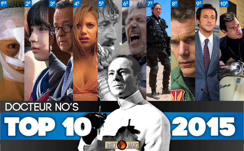 LE TOP 10 2015 du dr No