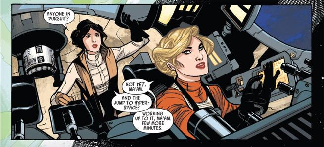 On a Lu… Star Wars – Princesse Leia par Mark Waid et Terry Dodson