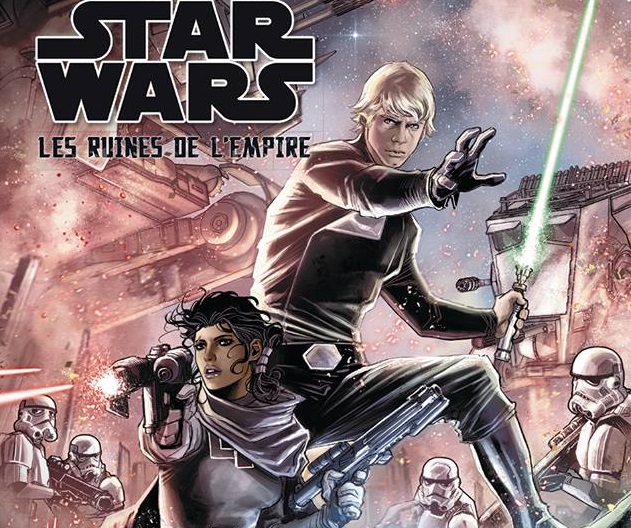 On a (aussi) lu…Star Wars – Les Ruines de l'Empire de Greg Rucka et Marco Checchetto