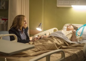Scully, seule face à sa perte