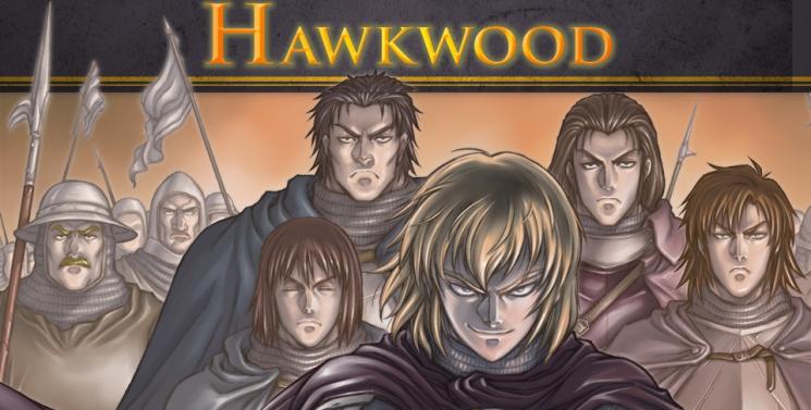 On a lu… Hawkwood (T. 1 & 2) de Tommy Ohtsuka