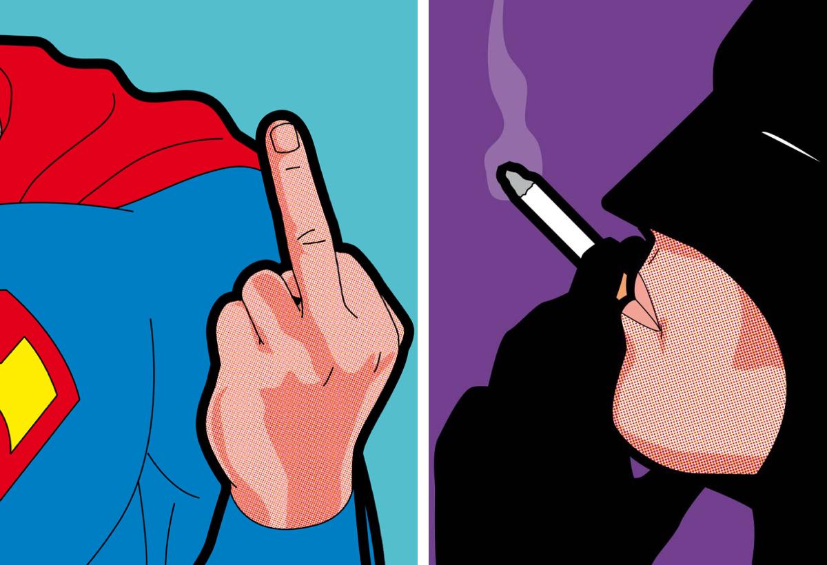 DMM#9 : La mise à poil de Batman et Superman