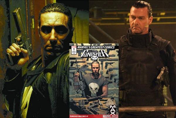 Ray Stevenson - Punisher Max