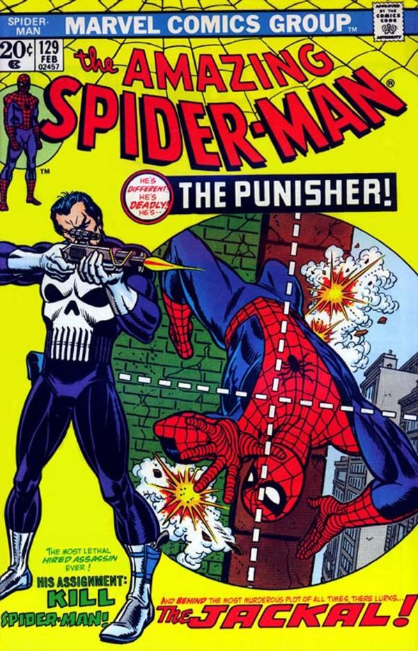 Couverture d'Amazing Spider-Man 129