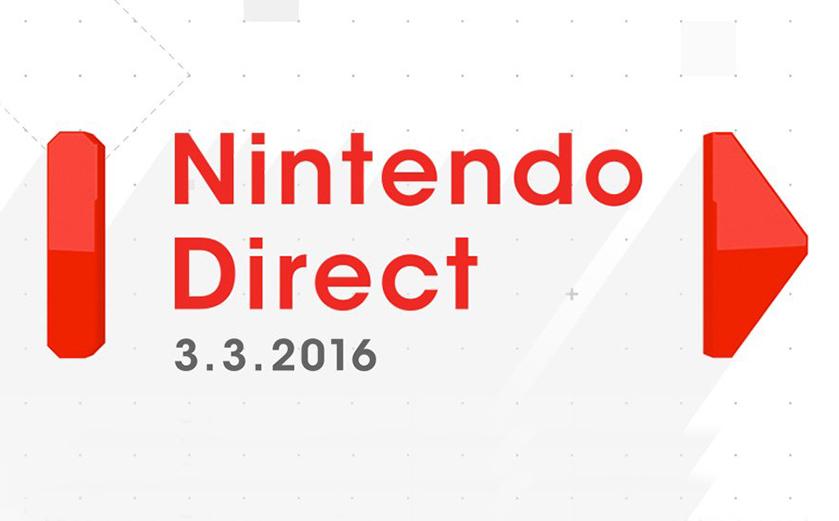 Les annonces du Nintendo Direct du 04/03/16