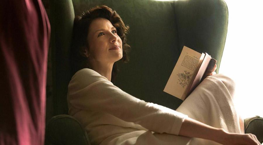 Portrait : Claire et son retour vers le passé (Outlander)