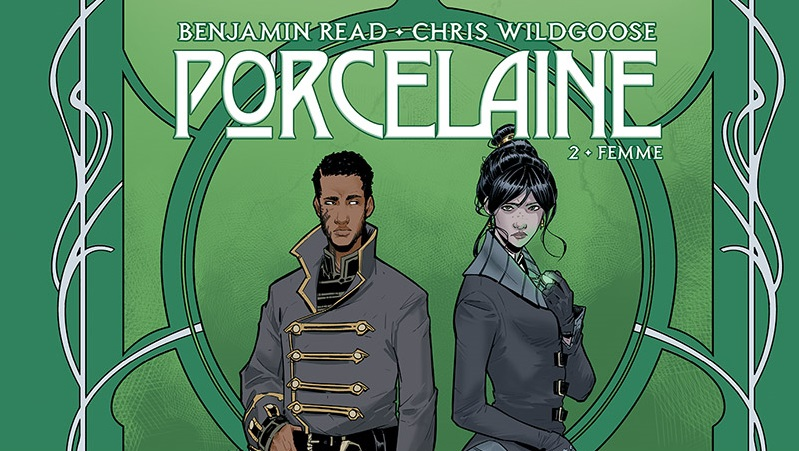 On a (aussi) lu…Porcelaine (T.2) de Benjamin Read et Chris Wildgoose