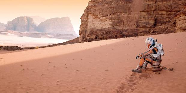 Seul sur Mars : mission patate