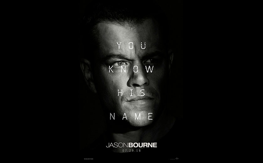 Jason Bourne est de retour dans un nouveau trailer