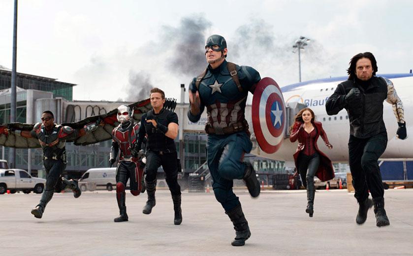 MOVIE MINI REVIEW : critique de Captain America : Civil War