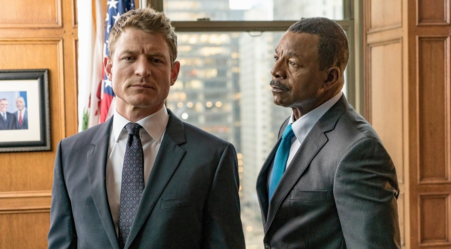Philip Winchester & Carl Weathers