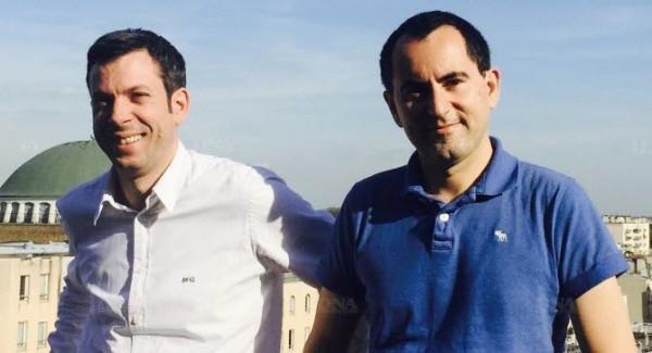 Mathieu Girard et Romain de Wauber de Genlis