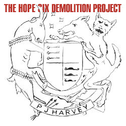 "Pochette de l'album ""The Hope Six Demolition Project"" de PJ Harvey"