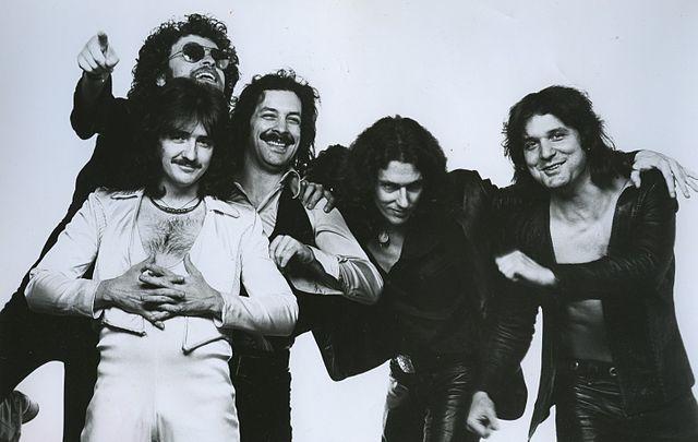 Blue Öyster Cult 1977 publicity photo