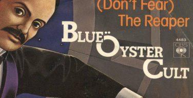 Pochette du 45 tours du titre (Don't Fear) The Reaper par le groupe Blue Öyster Cult (détail)