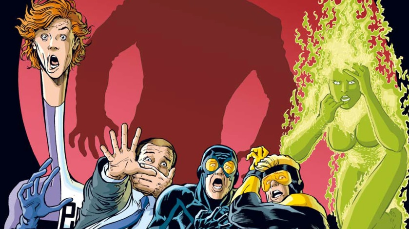 On a lu… Justice League Univers H.S. N°1 par Giffen, DeMatteis et Maguire