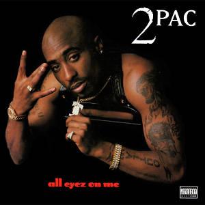 2Pac - All Eyez on Me - Pochette