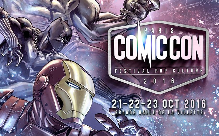 Comic Con Paris 2016 tient l'affiche