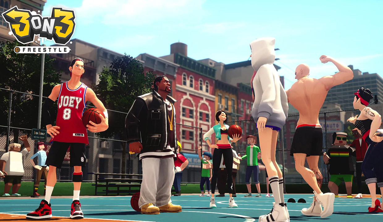 3on3 Freestyle, un nouveau jeu de street basketball, en exclusivité sur PlayStation 4 !