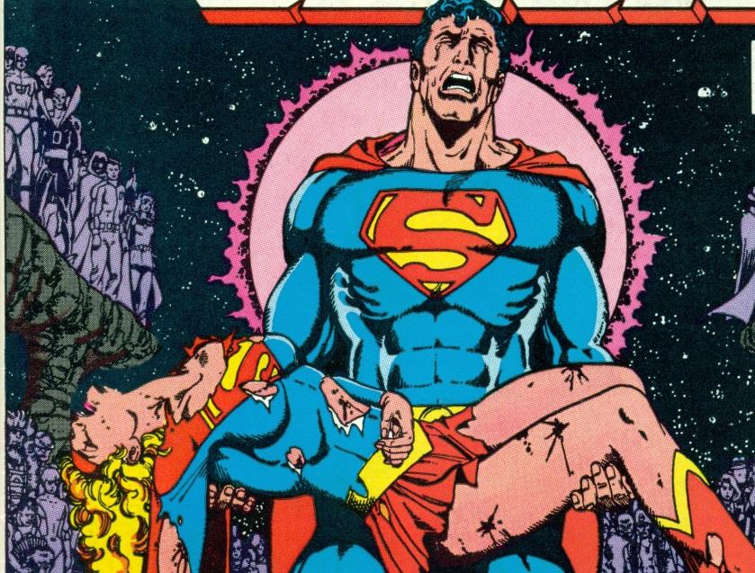 On a lu…Crisis on Infinite Earths de Marv Wolfman et George Pérez