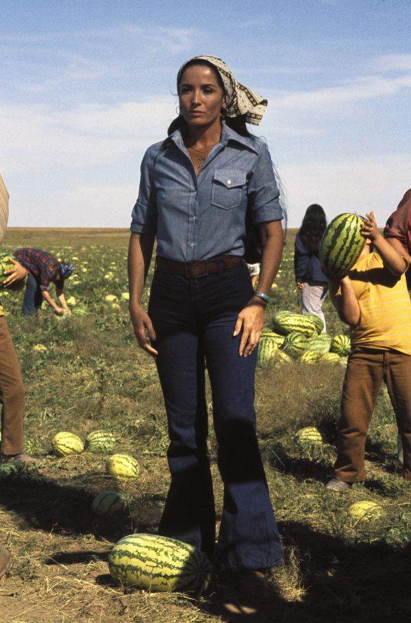 Nancy Chavez (la Chilienne Linda Cristal), découverte dans Alamo de John Wayne.