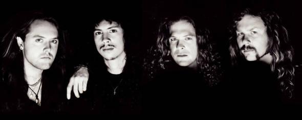 Metallica, photographié par Ross Halfin en 1991
