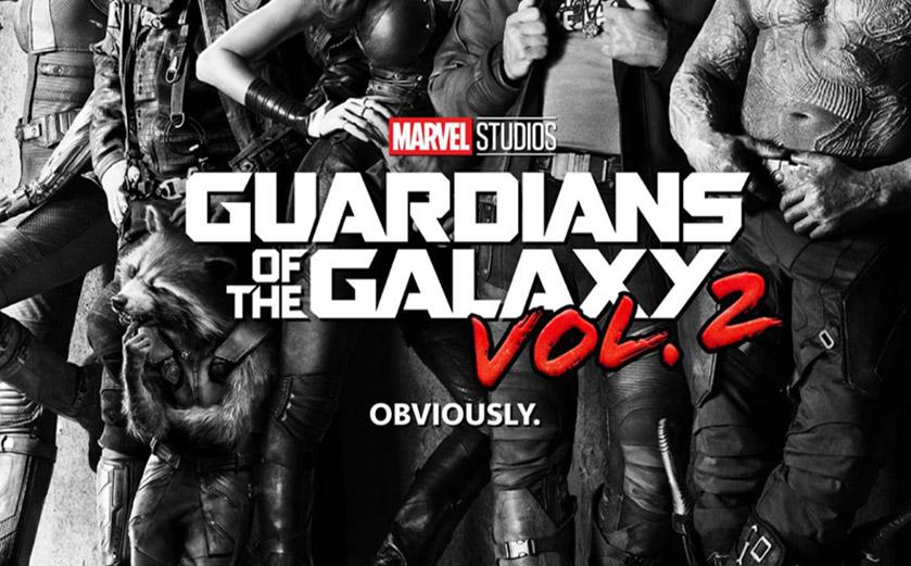 Guardians of the Galaxy Vol.2 : un trailer et un poster à la cool