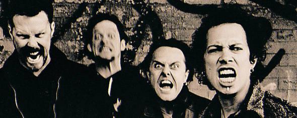 Metallica, photographié par Anton Corbijn en 1996