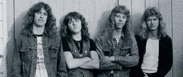 Metallica photographié par Brian Lew en 1983