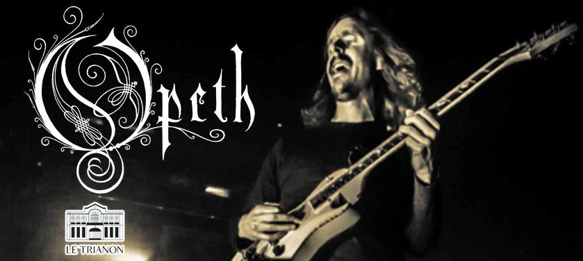 #Concert Opeth – Le Trianon – 21/11/2016