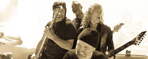 Metallica, photographié par Jef Yeager à Bogota (Colombie), le 1er novembre 2016