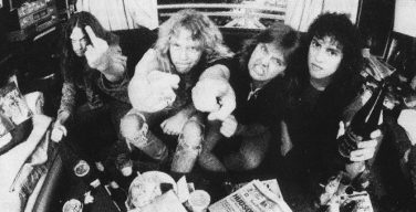 Metallica photographié par Ross Halfin (1983)