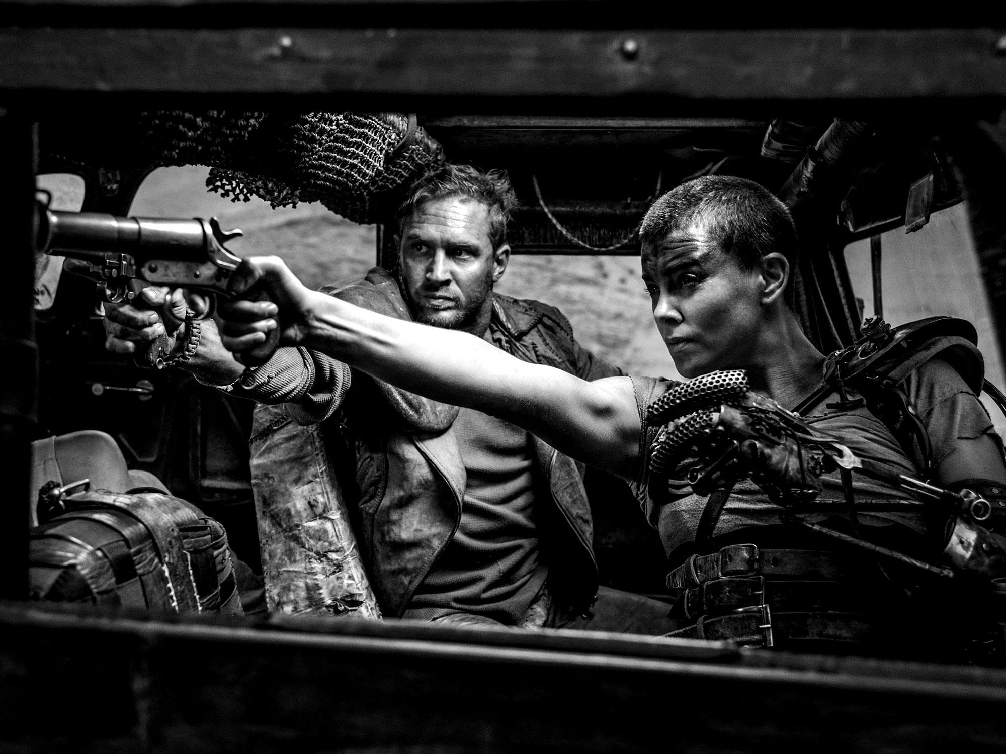 Mad Max Fury Road – Black & Chrome : Witness !