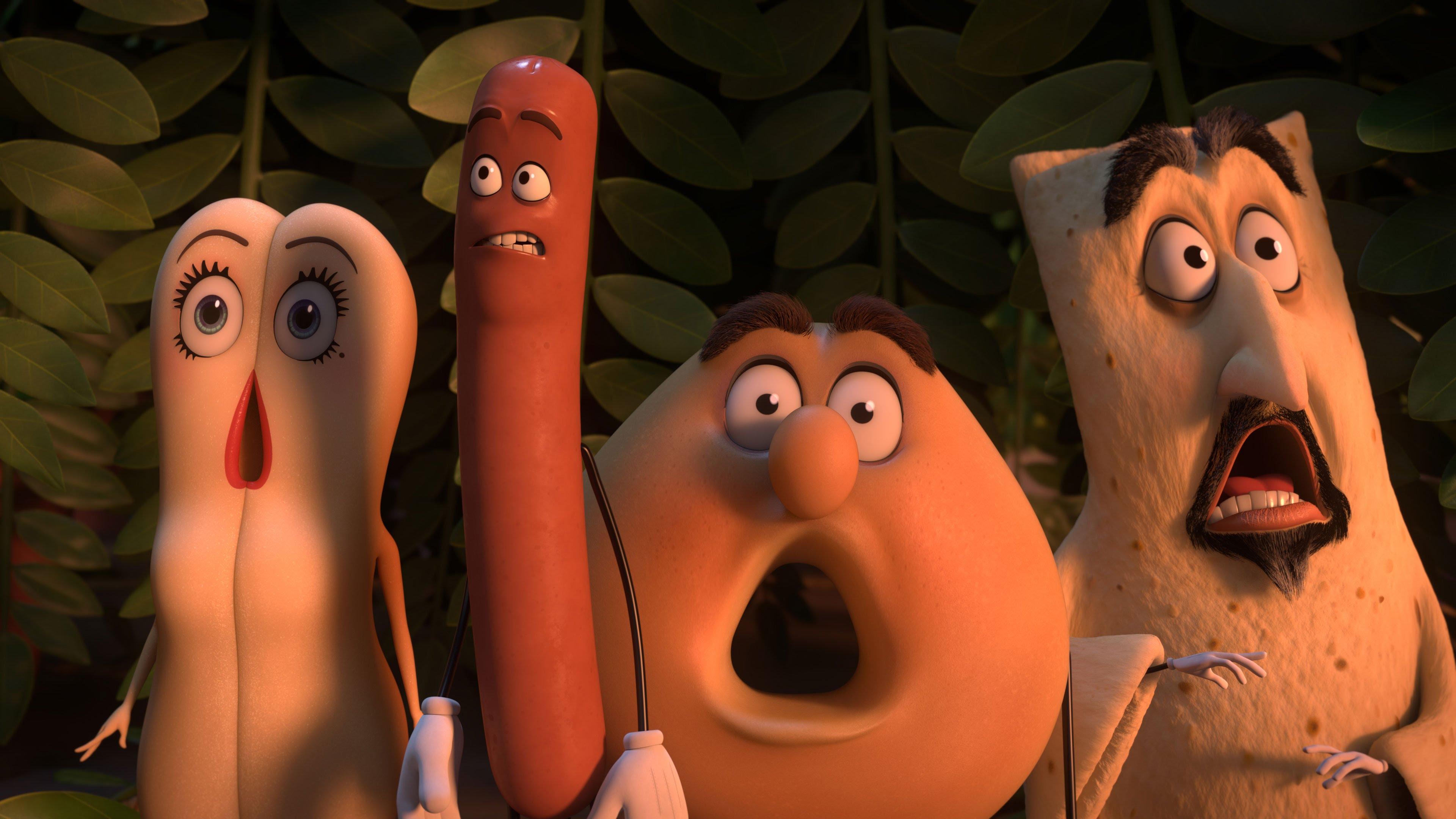 #Critique Sausage Party, La Vie privée des aliments