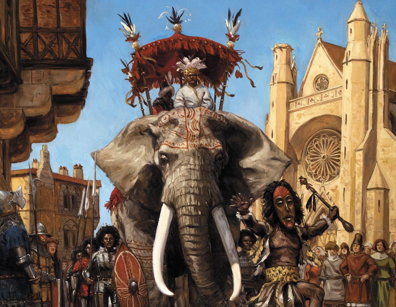 #critique Jour J La ballade des pendus (1473 : visite diplomatique à haut risque de l'ambassadeur du Mali dans une Europe ravagée par la grande peste)