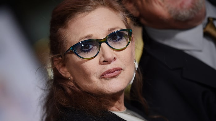 Chère Carrie Fisher