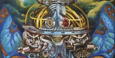 Sepultura - Machine Messiah (2017 - détail de la pochette - illustration de Camille Dela Rosa)