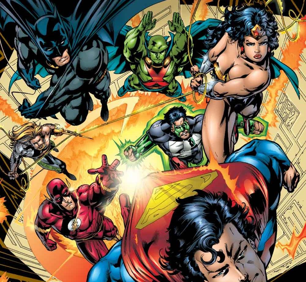 #Critique Justice League of America (T.1) de Grant Morrison
