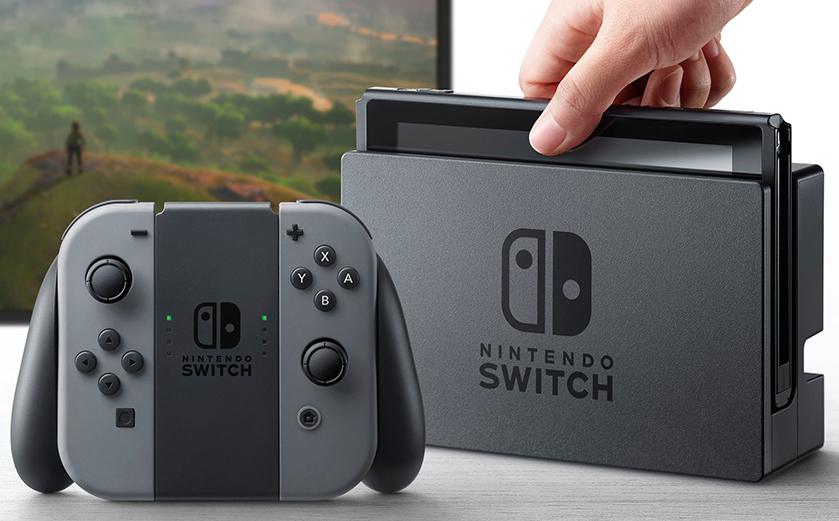 La Nintendo Switch arrive le 3 mars