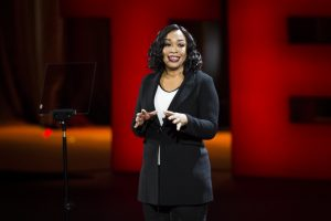 Shonda Rhimes speaks at TED2016 - Dream, February 15-19, 2016, Vancouver Convention Center, Vancouver, Canada. Photo: Marla Aufmuth / TED