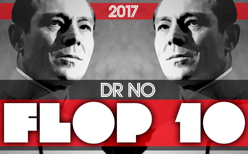 #DrNo #Flop10 Cinéma 2016