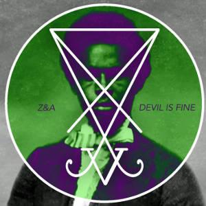 """Pochette de l'album """"Devil Is Fine"""" de Zeal and Ardor"""